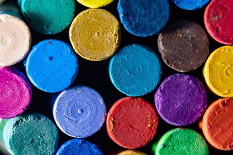 bright colors art